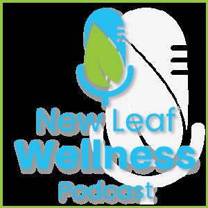 new leaf wellness podcast logo