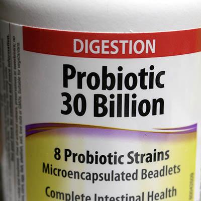 Bottle of Probotics