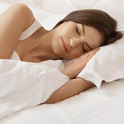 Sleep can greatly be improved by full detoxification.
